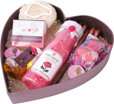 Soulflower Romance Heart Bathset