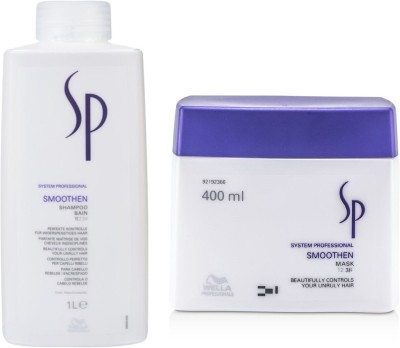 Wella Professionals Sp Smoothen Shampoo With Mask