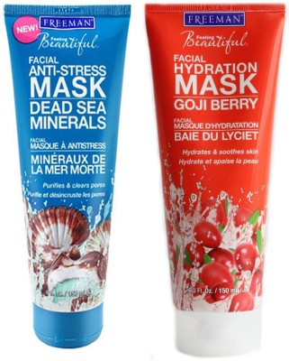 Freeman 1 Mineral Mask,1 Goji Berry Mask