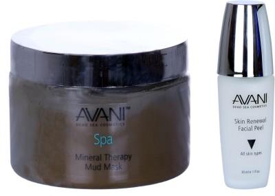 Avani Mineral Therapy Mud Mask And Skin Renewal Facial Peel