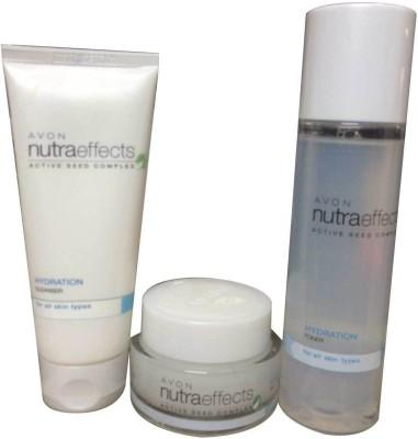 Avon Nutra Effects Hydration Gel Cream, Toner & Cleanser