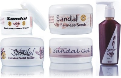Adidev Herbals Ayurvedic Skin Brightening Sandal Fairness Face Pack
