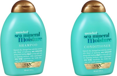 Ogx Quenched Sea minerals Moisture Conditioner and Shampoo ( Organix )