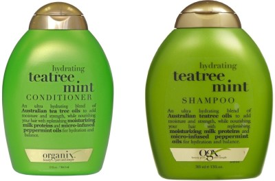 Ogx Hydrating + Teatree Mint ( Organix ) Shampoo and Conditioner