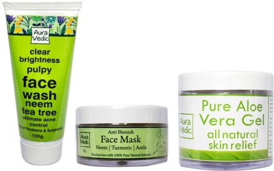 Auravedic Anti Acne Gentle Treatment