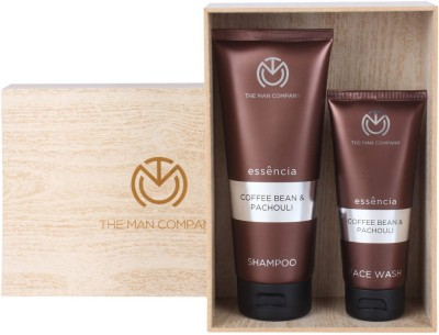 The Man Company Coffee Addiction- Set of Face Wash and Shampoo