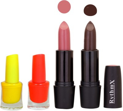 RYTHMX ST RYTH BLK LIPSTICKS AND NAIL POLISH IMPORTANT COMBO 048