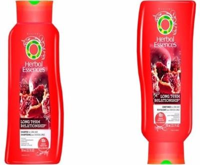 Herbal Essences long Term Relationship Shampoo + Revitalisant Conditioner 700 ml Each
