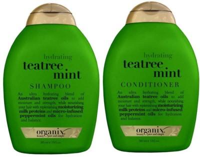 OGX Tea Tree Mint Shampoo+Conditioner