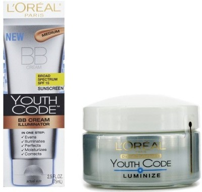 L,Oreal Paris Youth Code BB Cream with luminize