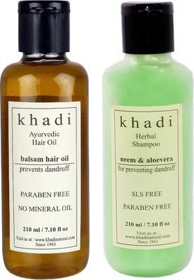 khadi Natural Anti Dandruff Combo-1