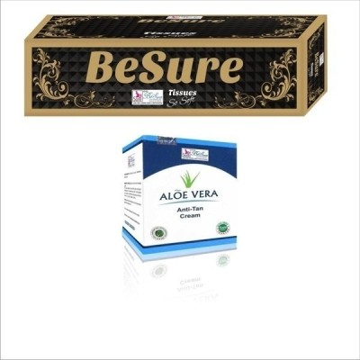Besure Face Tissue with Anti-tan Cream