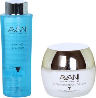 Avani Skin Balance Moisturizing Gel-Cream And Refreshing Facial Toner