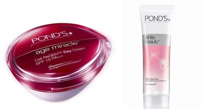 Pond's anti-ageing and facial foam
