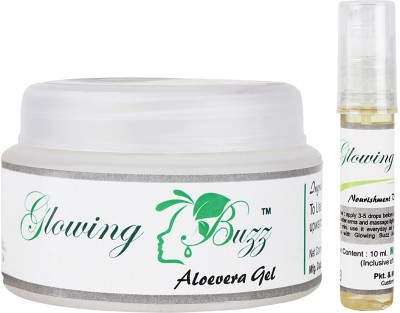 Glowing Buzz Herbal Vitamin E oil and Aloevera Gel