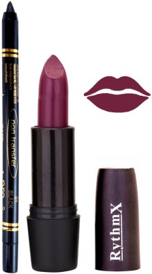 Rythmx Jamini Shades Lipstick And Pro Non Transfer Black Kajal 38102