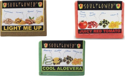 Soulflower Tan Removal Set Of 3