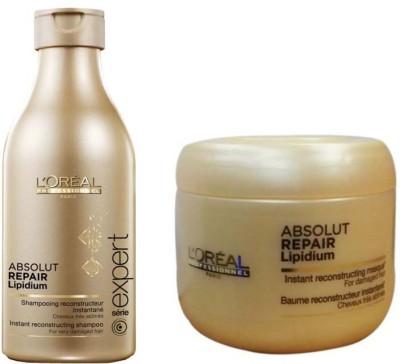 L,Oreal Paris Absolut Repair Lipidum Shampoo With Mask