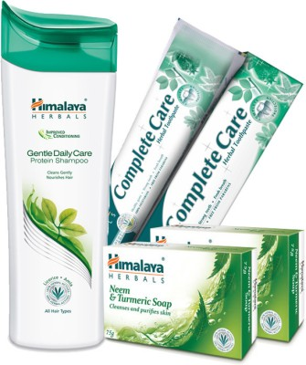 Himalaya Daily Essential Kit (Soap Shampoo Paste)