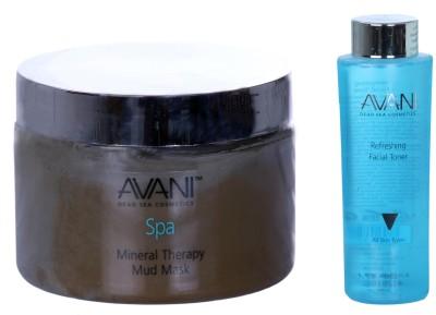 Avani Mineral Therapy Mud Mask And Refreshing Facial Toner