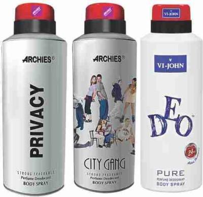 Archies Men's Grooming(Set of 3)