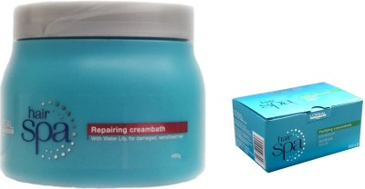 L,Oreal Paris Hair Spa Repairing Creambath with Purifying Contentrate