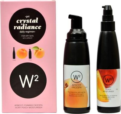 W2 Crystal Radiance Daily Regimen for Dry Skin