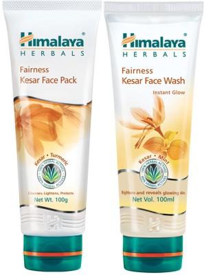 Himalaya Fairness Kesar Pack & Face Wash