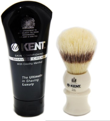 Kent Luxirious Shaving Experience With Shaving Cream
