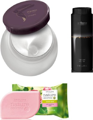 Oriflame Sweden Body Cream-Talc-Soap Combo