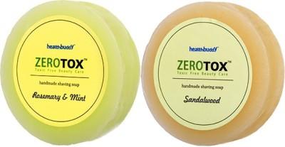 Healthbuddy Zerotox Handmade Rosemary & Mint + Sandalwood (2pcs of 125 gms each)