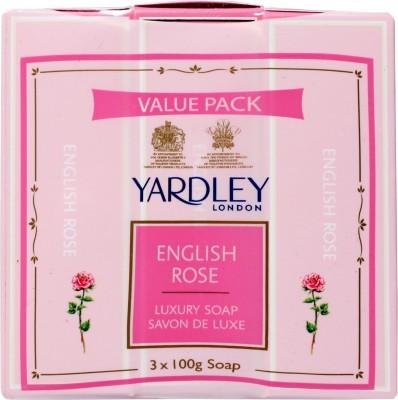 Yardley London English Rose Luxury Soap(Set of 3)