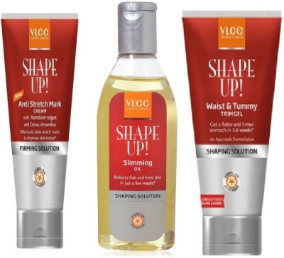 VLCC Gel Cream and Oil Combo 4
