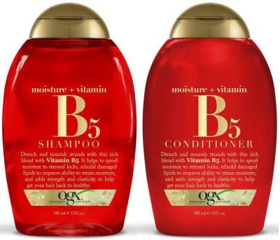 OGX Moisture+Vitamin B5 Shampoo Conditioner Combo