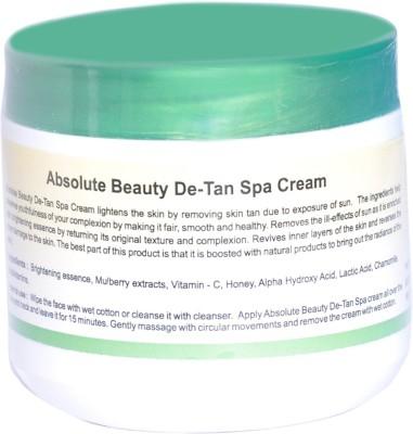 Absolute Beauty Women Sun De-Tan Skin Care Spa Remove Cream To Dead Cells.