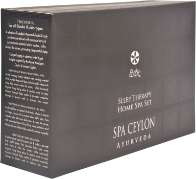 Spa Ceylon Luxury Ayurveda Sleep Therapy Home Spa Set