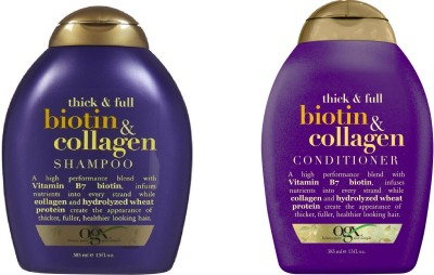 Ogx Thick & Full Biotin Collagen ( Organix ) Shampoo and Conditioner
