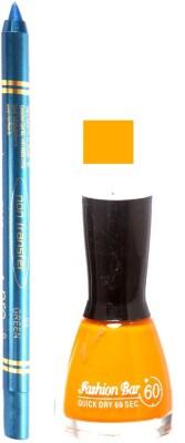Fashion Bar Light Purple Nail Polish With Pro Non Transfer Turquoise Blue Kajal 104