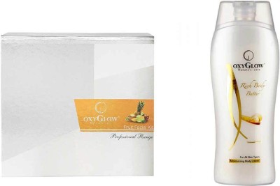 Oxyglow Fruit Facial Kit & Rich Body Butter