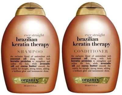 OGX Ever Straight Brazilian Keratin Therapy