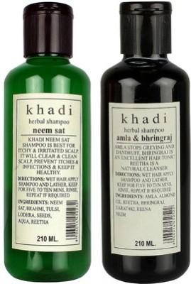 Khadi Herbal Shampoo Combo-3