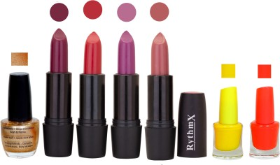 RYTHMX GSR RYTH BLK LIPSTICKS AND NAIL POLISH IMPORTANT COMBO 078