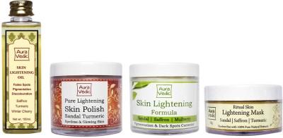 Auravedic Ultra Anti Pigmentation Facial Kit