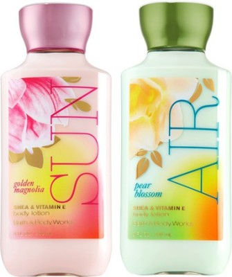Bath & Body Works Golden Magnolia Sun and Pear Blossom Air