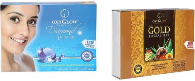 Oxyglow Diamond Facial Kit & Gold Facial Kit