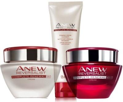 Avon Anew Reversalist Renewal Day Cream SPF 25 UVA/UVB (30g) + Night Cream (30g) + Cleanser (125ml)