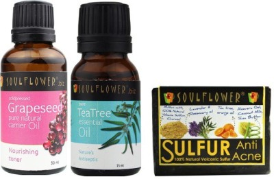 Soulflower Anti Acne Set Of 3