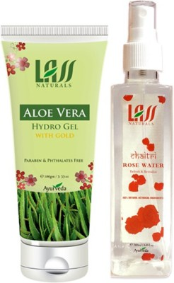 Lass Naturals Combos Of Aloe Vera Gel And Tonner