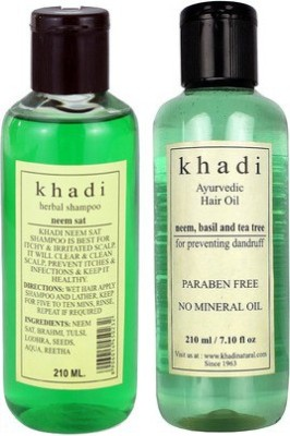 khadi Natural Neem Hair Care Combo