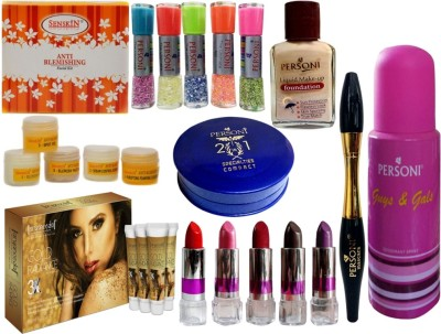 PERSONI ATTRACTIVE COMBO KIT OF 16 PCS OF BEAUTY ACCESSORIES